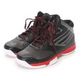 アディダス adidas ジュニアバスケットボールシューズ adibash 6 K D70022 ブラックxスカーレット325