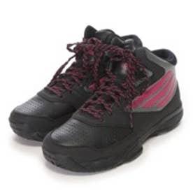 アディダス adidas ジュニアバスケットボールシューズ adibash 6 K D70023 ブラックxボールドピンク326