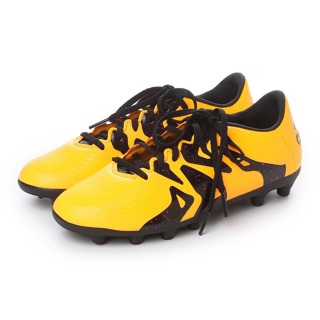 【SALE 28%OFF】アディダス adidas ジュニアサッカースパイク エックス X 15.3-ジャパン HG J AF4757 2769 (ソーラーゴールド×コアブラック×ショックピンク S16)