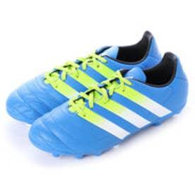 アディダス adidas ジュニアサッカースパイク エース Ace 16.3-ジャパン HG J LE AF5255 2765 (ショックブルーS16×セミソーラースライム×ランニングホワイト)