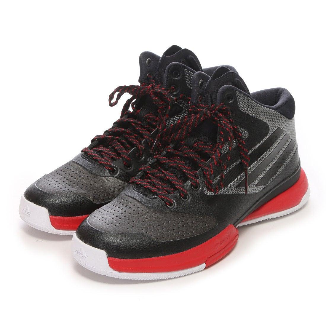 【SALE 50%OFF】アディダス adidas バスケットボールシューズ アディゼロ バッシュ 6 adizero Bash 6 Q16992 (ブラックR)