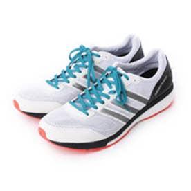 アディダス adidas ランニングシューズ アディゼロ ボストン ブースト ワイド adizero Boston boost W S78216 4661 (ランニングホワイト/シルバーメット)