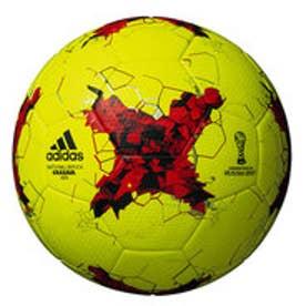 アディダス adidas ジュニア サッカー 試合球 CONFED17  キッズ4号球 蛍光黄色 AF4200Y