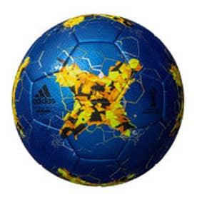 アディダス adidas ジュニア サッカー 試合球 CONFED17  キッズ4号球  青色 AF4200B