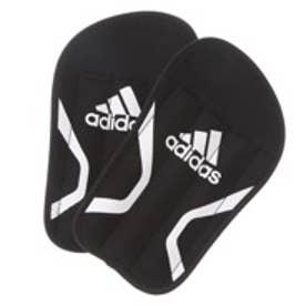 アディダス adidas サッカーシンガード  AD KQ788SSG BKW ブラック (ブラック×ホワイト)