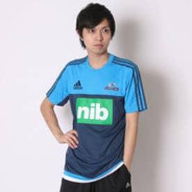 アディダス adidas ユニセックス ラグビー 半袖シャツ BLUES パフォーマンスTシャツ AH4534