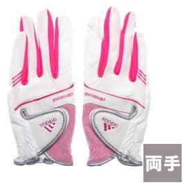 アディダス adidas レディース ゴルフ グローブ クライマクール '17 ペア グローブ AWT39