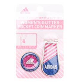 アディダス adidas レディース ゴルフ マーカー ウィメンズ グリッターポケットコインマーカー M72144