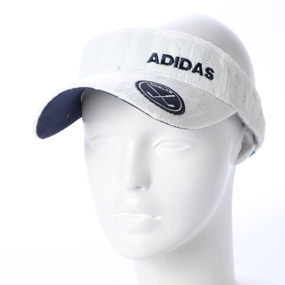 ロコンド 靴とファッションの通販サイトアディダス adidas レディース ゴルフ サンバイザー adicross ケーブルニットバイザー U31663