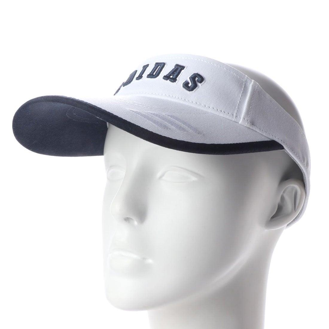 アディダス adidas レディース ゴルフ サンバイザー ADICROSS ツイルバイザー CL2097 (ホワイト)