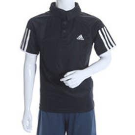 アディダス adidas ジュニアテニスシャツ B クラブ ポロシャツ AJ3248 ブラック  (ブラック×ホワイト)