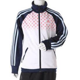 アディダス adidas ジュニア 長袖ジャージジャケット Girls ウォームアップ ジャージ ジャケットT AP AZ7489