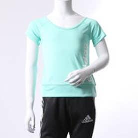 アディダス adidas ジュニア 半袖機能Tシャツ GIR TRN CLIMALITE リニアロゴ T BR3043