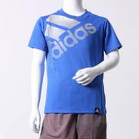 アディダス adidas ジュニア 半袖機能Tシャツ BOY TRN フェイディングビッグロゴ T BQ6377