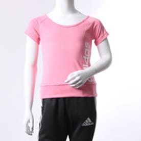 アディダス adidas ジュニア 半袖機能Tシャツ GIR TRN CLIMALITE リニアロゴ T BQ2862