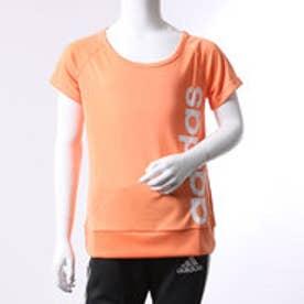 アディダス adidas ジュニア 半袖機能Tシャツ GIR TRN CLIMALITE リニアロゴ T BQ2865