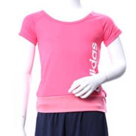 アディダス adidas ジュニア 半袖機能Tシャツ GTRNCLIMALITEリニアロゴTシャツ CF7156