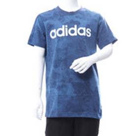 アディダス adidas ジュニア 半袖 Tシャツ BESSリニアロゴTシャツCAMO CF6493