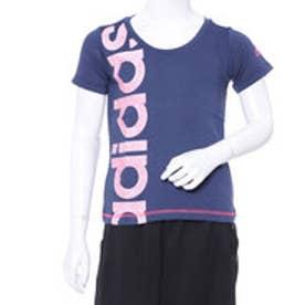 アディダス adidas ジュニア 半袖Tシャツ GESSグラフィックリニアロゴTシャツ CX3818