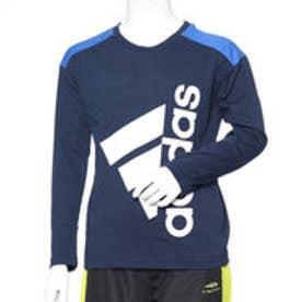 アディダス adidas ジュニア 長袖Tシャツ BESSコットンタッチスーパービッグロゴLST DN1282