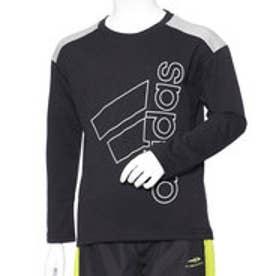 アディダス adidas ジュニア 長袖Tシャツ BESSコットンタッチスーパービッグロゴLST DN1275