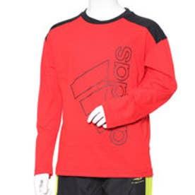 アディダス adidas ジュニア 長袖Tシャツ BESSコットンタッチスーパービッグロゴLST DN1283