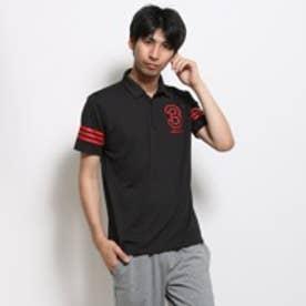 【アウトレット】アディダス adidas ゴルフ半袖ポロシャツ JLJ66 ブラック