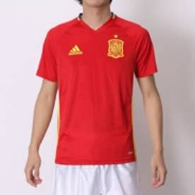 アディダス adidas サッカーライセンスウェア スペイン代表トレーニングジャージー AI4850 (スカーレット×ブライトイエロー)