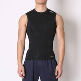 アディダス adidas サッカーノースリーブインナーシャツ テックフィット BASE ノースリーブ AJ4957  (ブラック)
