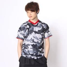 アディダス adidas 野球Tシャツ Revolution 2ndユニフォームTシャツ カモフラージュグレー AP2714 (ソリッドグレー)