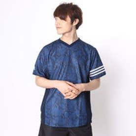 アディダス adidas 野球Tシャツ Revolution 2ndユニフォームTシャツ パイソンTシャツブルー AP2673 (カレッジネイビー)