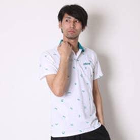 アディダス adidas ポロシャツ SC パームツリー総柄ポロシャツ M BIO41
