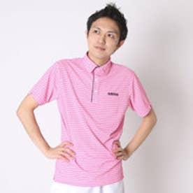 【アウトレット】アディダス adidas ゴルフシャツ JP SP マイクロバナナS/Sポロ CCG49 (ショックピンク)