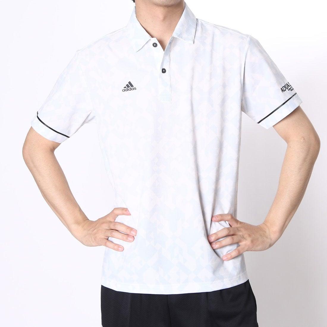 【SALE 53%OFF】【アウトレット】アディダス adidas ゴルフシャツ JP CP デジタルプリントS/Sウーブンポロ CCG36 (ホワイト) メンズ