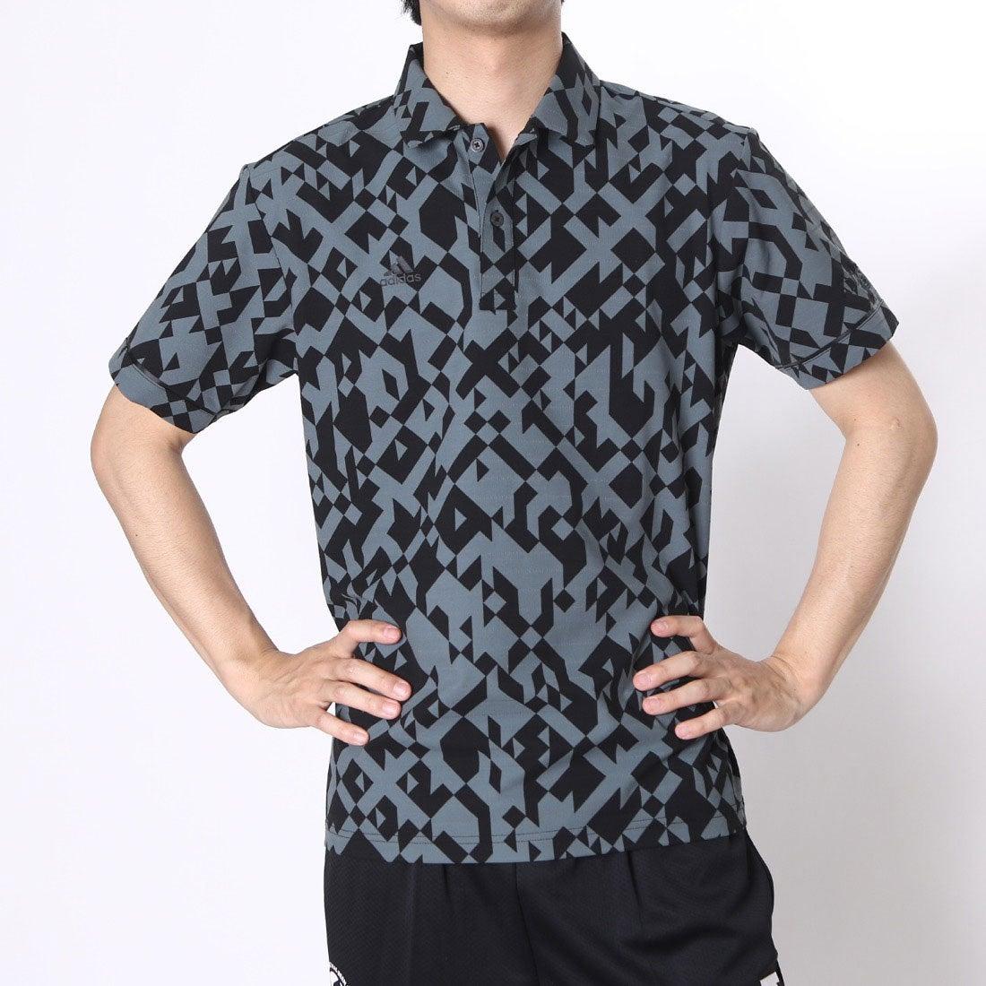 【SALE 53%OFF】【アウトレット】アディダス adidas ゴルフシャツ JP CP デジタルプリントS/Sウーブンポロ CCG36 (ブラック) メンズ