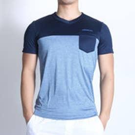 アディダス adidas Tシャツ HM テロテロ Tシャツ M BIO28 (ダークブルー×ネイビー)