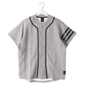 アディダス adidas メンズ 野球 半袖Tシャツ Revolution ピンストライプスウェットシャツ AZ4115