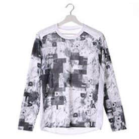 アディダス adidas メンズ 長袖機能Tシャツ レイヤリング トレーニングロングスリーブシャツ B43011