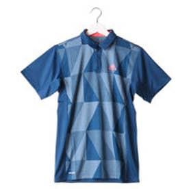 アディダス adidas メンズ テニス 半袖ポロシャツ MENS CLUB ジャカードポロ NEWYORK AP9439 (ネイビー)