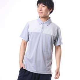 アディダス adidas メンズ ゴルフ 半袖シャツ CP CLIMACHILL ヘザーストライプ S/Sシャツ LCD75