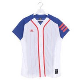 アディダス adidas メンズ 野球 半袖Tシャツ US ベースボールシャツ BR5598