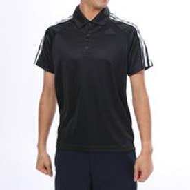 アディダス adidas メンズ 半袖機能ポロシャツ D2M トレーニング3ストライプポロシャツ BK2601