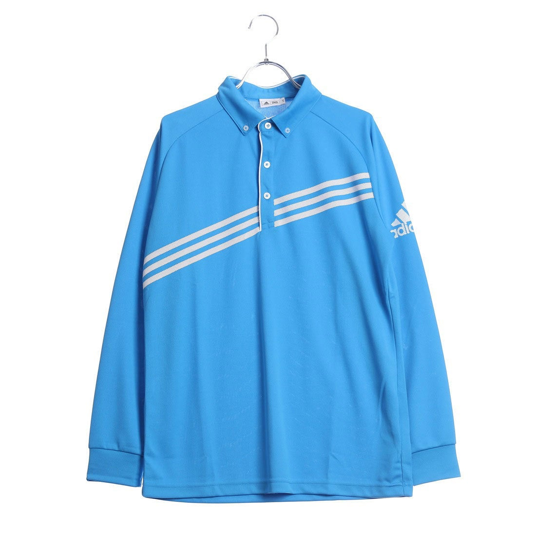 アディダス adidas メンズ ゴルフ 長袖ポロシャツ N68476 メンズ
