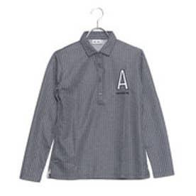 アディダス adidas レディース ゴルフ 長袖シャツ JP SP Aロゴストライプ L/Sシャツ N68207