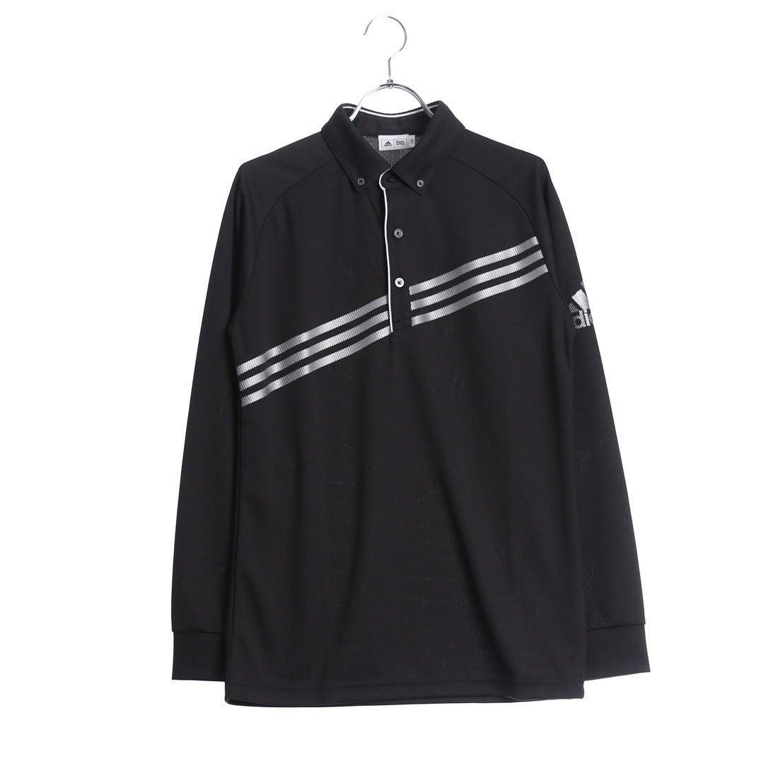 アディダス adidas メンズ ゴルフ 長袖ポロシャツ N68478 メンズ