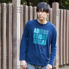 アディダス adidas メンズ 長袖Tシャツ HM ロゴグラフィックロングスリーブTシャツ M CD3022