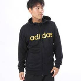 アディダス adidas メンズ スウェットフルジップパーカー M ESSENTIALS ビッグリニアロゴ スウェットフルジップパーカー (裏毛) CE0208