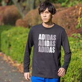 アディダス adidas メンズ 長袖Tシャツ HM ロゴグラフィックロングスリーブTシャツ M CD3024