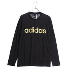 アディダス adidas メンズ 長袖Tシャツ M ESSENTIALS ビッグリニアロゴ 長袖Tシャツ CE0215