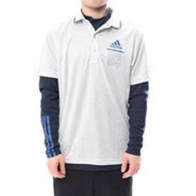 アディダス adidas メンズ ゴルフ 長袖 シャツ JP ADICROSS シティパターン レイヤードポロ M73663